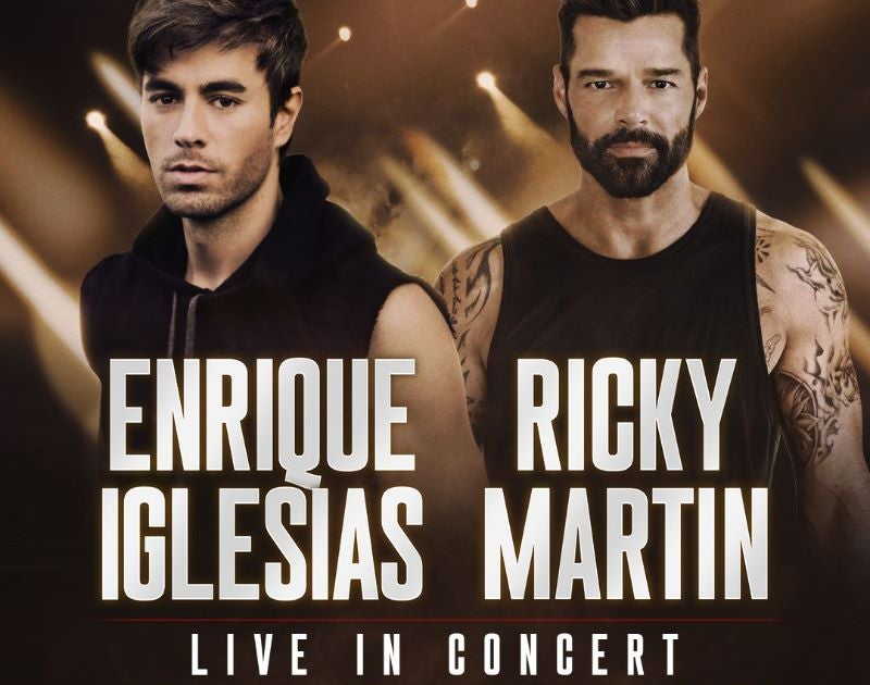 More Info for ENRIQUE IGLESIAS & RICKY MARTIN